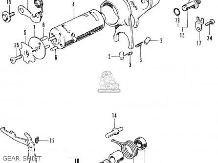 Honda Ss50z K1 France parts list partsmanual partsfiche