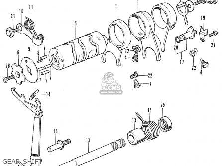 Honda Ss50z K1 General Export parts list partsmanual
