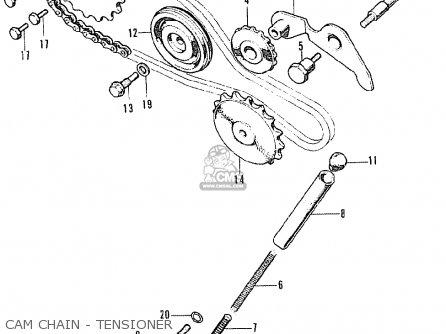 Honda Ss50z K1 Netherlands parts list partsmanual partsfiche