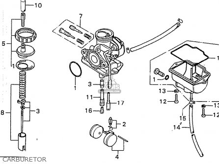 Honda SS50Z K2 ENGLAND parts lists and schematics