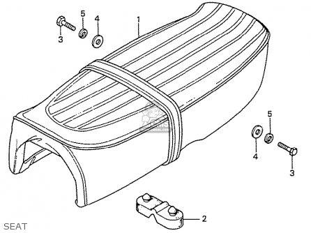 Honda Ss50z K2 England parts list partsmanual partsfiche