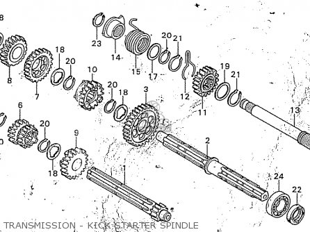 Honda Ss50zb2 England parts list partsmanual partsfiche