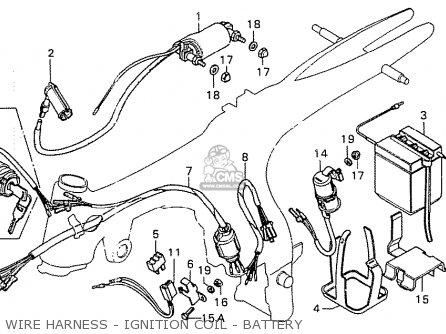 Q45 Ignition Coil Wire Harness