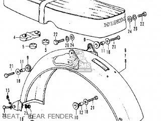 Honda Ss50zk3 (belgium) parts list partsmanual partsfiche