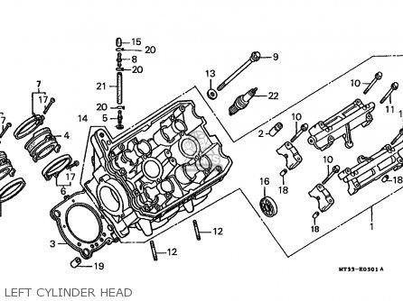 Honda ST1100 1991 (M) CANADA / KPH parts lists and schematics