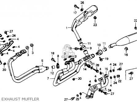 Honda St1100 1991 (m) Usa California parts list