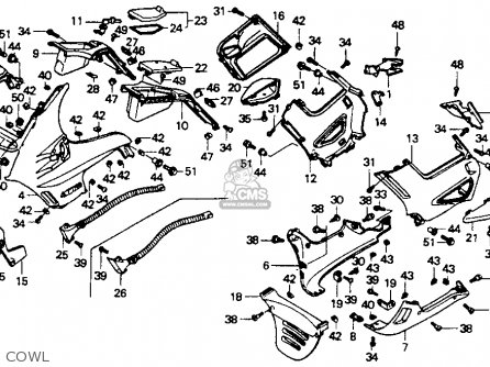 1992 Honda Shadow 1100 Wiring Diagram Honda GL1200 Wiring