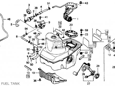 Honda St1100 1993 (p) Usa California parts list