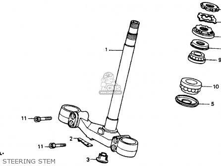 Honda St1100 1993 Usa parts list partsmanual partsfiche