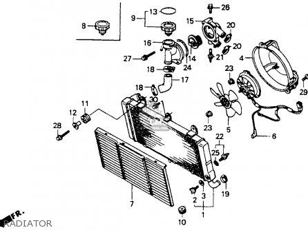Honda St1100 1994 (r) Usa California parts list