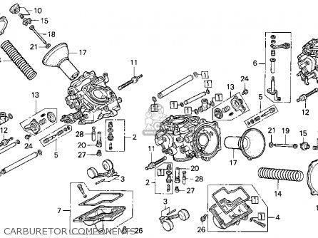 Honda St1100 1995 (s) Usa California parts list