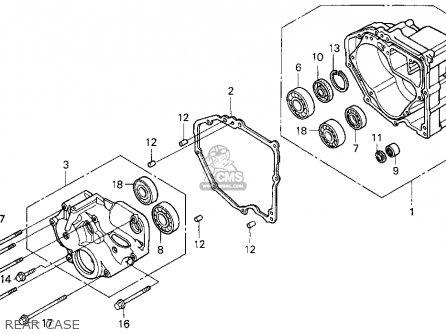 Honda ST1100 1996 (T) USA CALIFORNIA parts lists and