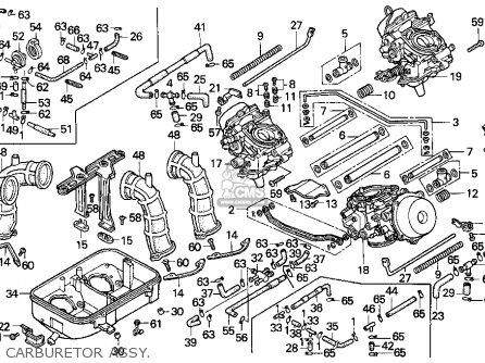 Honda St1100 1998 (w) Usa California parts list