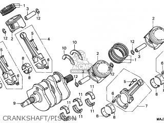 Honda St1100 1999 (x) Canada parts list partsmanual partsfiche