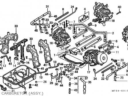 Honda St1100 Pan European 1993 Austria / Kph parts list