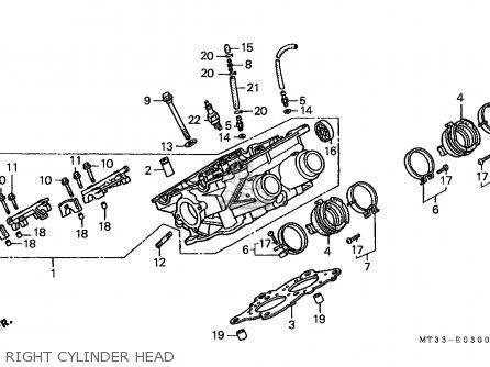 Honda ST1100 PANEUROPEAN 1991 (M) ENGLAND / MPH parts