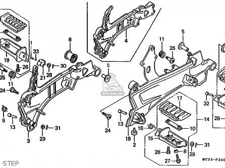 V4 Motorcycle Engines Honda VF1000 Wiring Diagram ~ Odicis