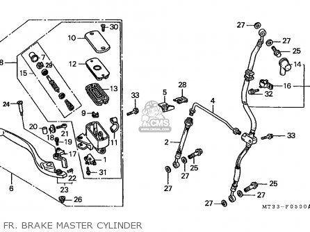 Honda ST1100 PANEUROPEAN 1991 (M) GERMANY / KPH parts