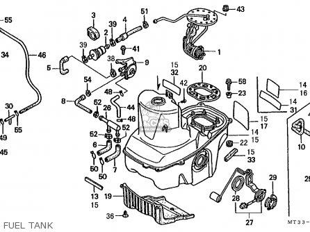 Honda St1100 Paneuropean 1993 (p) Finland / Kph parts list
