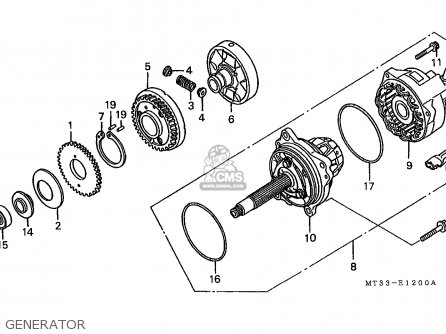 Honda ST1100 PANEUROPEAN 1993 (P) SPAIN / KPH parts lists