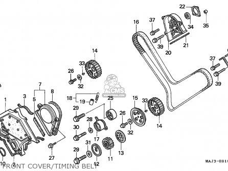 Honda ST1100 PANEUROPEAN 1997 (V) FRANCE parts lists and