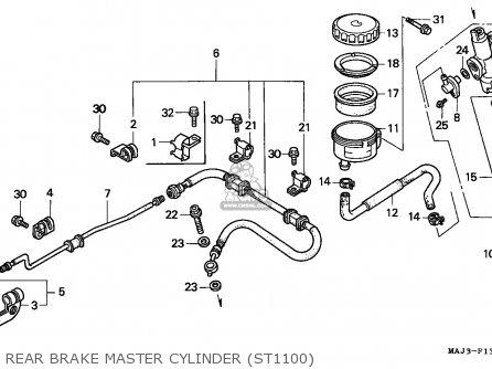 Honda ST1100 PANEUROPEAN 1998 (W) EUROPEAN DIRECT SALES