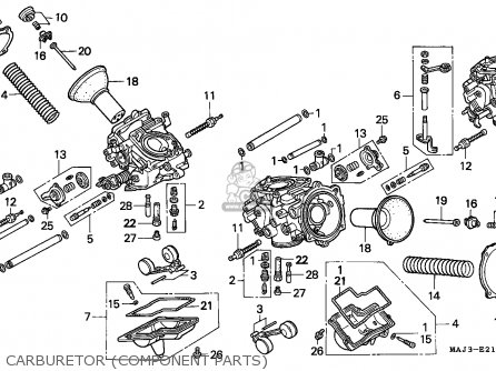 Honda ST1100 PANEUROPEAN 1998 (W) GERMANY parts lists and