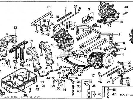 Honda St1100a Pan European 1996 Italy parts list