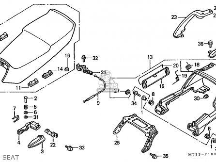 Honda ST1100A PANEUROPEAN 1992 (N) ENGLAND / MKH parts