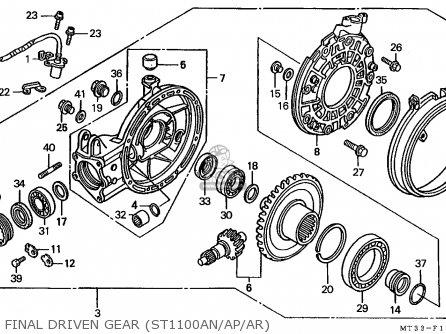 Honda ST1100A PANEUROPEAN 1992 (N) EUROPEAN DIRECT SALES