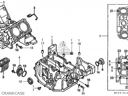 Honda ST1100A PANEUROPEAN 1992 (N) FRANCE / YB parts lists