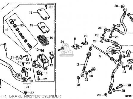 Honda St1100a Paneuropean 1994 (r) England / Mkh parts