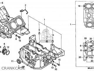 Honda St1100a Paneuropean 1999 (x) England / Abs parts
