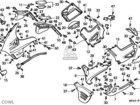 Honda St1100p Paneuropean 1993 (p) England / Mkh parts