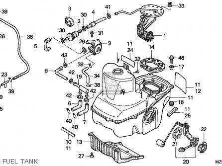 Honda St1100p Paneuropean 1993 (p) European Direct Sales