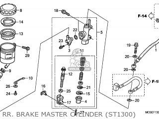 Honda ST1300 PANEUROPEAN 2009 (9) FRANCE / CMF parts lists