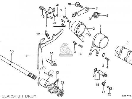 Honda ST50 DAX 1988 (J) ENGLAND parts lists and schematics