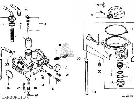 Honda St50 Dax 1994 Germany parts list partsmanual partsfiche