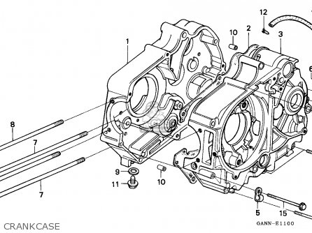 Honda ST50 DAX 1994 (R) GERMANY parts lists and schematics