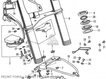 Honda St50 Dax Belgium parts list partsmanual partsfiche
