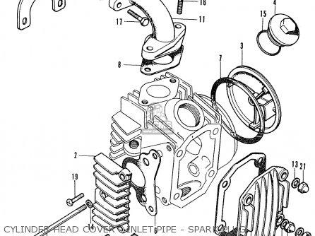Honda St50-e (england) parts list partsmanual partsfiche