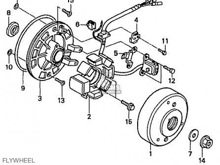 Honda ST50S DAX JAPAN parts lists and schematics