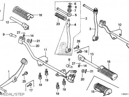 Honda St70 Dax 1982 (c) General Export (kph) parts list