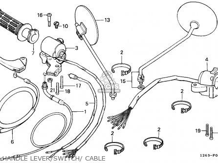 Honda ST70 DAX 1989 (K) GENERAL EXPORT KPH MS parts lists