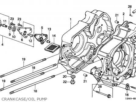 Honda St70 Dax 1989 Spain parts list partsmanual partsfiche