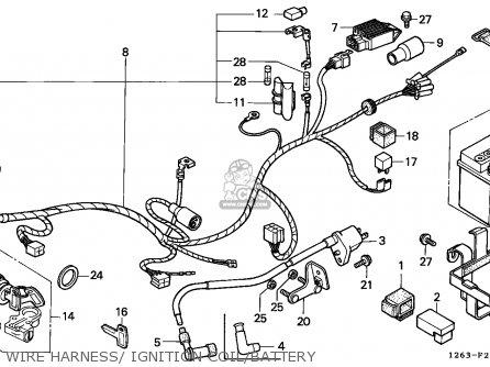 Honda St70 Dax 1990 (l) France Cmf Mk parts list