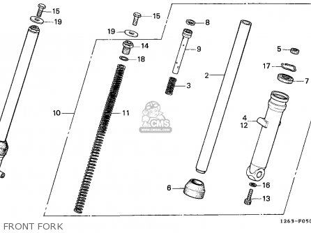 Honda St70 Dax 1990 Spain / Mk parts list partsmanual