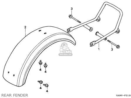 Honda St70 Dax 1992 (n) General Export Kph parts list