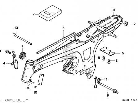 Honda St70 Dax 1994 Spain parts list partsmanual partsfiche