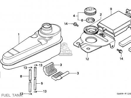 Honda St70 Dax 1996 (t) Spain parts list partsmanual